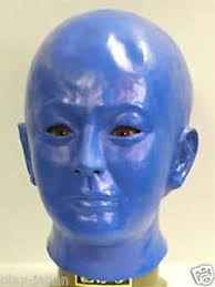 Blue Man Halloween Costume Blue Man Face Mask Halloween Costume Japan Ebay