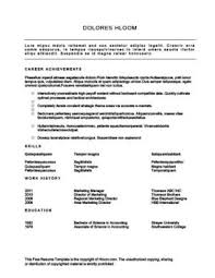 Define Functional Resume Functional Resume Definition Format Layout 60 Examples