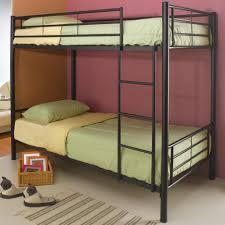 black metal frame bunk beds take advantage of metal frame bunk