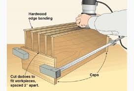 Woodworking Plans Projects Magazine Pdf by Flush Trimming Router Setup