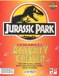 jurassic park paint and activity center jurassic park wiki