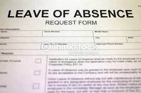 leave of absence request form stock photo thinkstock