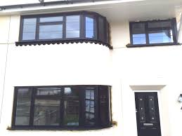our black aluminium window frames installed in kent dwl