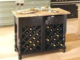 kitchen island with wine storage fresh kitchen cart with wine storage