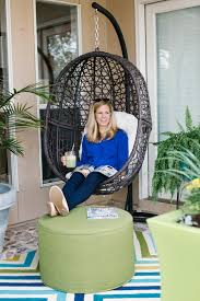 Patio Egg Chair Outdoor Patio Reveal With Hayneedle Com Design Improvised