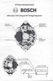 bosch internal regulator alternator wiring diagram oldholden com