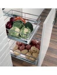 vegetable storage kitchen cabinets wicker basket set for vegetable storage 500mm kitchen cupboards