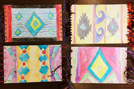 Zapotec Rugs Projects U2014 Rainbow Parrot Art Workshop