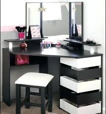 modern vanity table set alluring bedroom dressing table at small corner vanity for writers