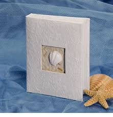 Bridal Shower Photo Album Sea Shell Photo Album Rumors Beach Theme Wedding Favors Just Got