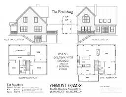 salt box houses house plan post u0026 beam home plans in vt timber framing floor