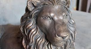 lion statues quality lion statues in uk geoffs garden ornaments