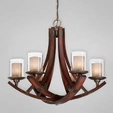 Iron And Wood Chandelier E25641011 Mano Mid Sized Chandelier Chandelier Wood Forged