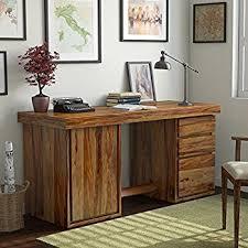 Sheesham Computer Desk Ladder Bradbury Sheesham Wood Study Office Desk Teak
