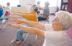 Armchair Yoga For Seniors Personal Training For Seniors Positive Lifeforce Fitness Gym