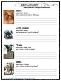 dragon facts worksheets u0026 mythical creature history for kids