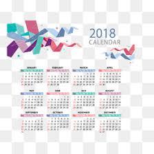 Kalender 2018 Hd 2018 Calendar Png Images Vectors And Psd Files Free