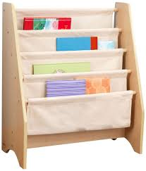 Toy Box With Bookshelves by Amazon Com Kidkraft Sling Bookshelf Natural Toys U0026 Games