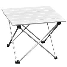 metal folding table outdoor 2017 new portable aluminium alloy table outdoor folding table picnic