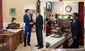 whitehouse bureau de change mitt romney drops in to mcdonald s before white house meal with