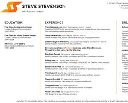 How To Set Up A Resume How To Design A Resume Resume Templates