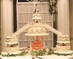 wedding cakes with fountains wedding cakes with fountains and stairs wedding ideas