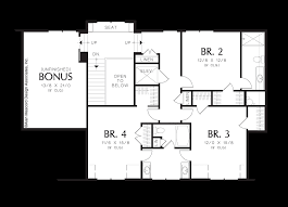 mascord house plan 2438 the goldstein