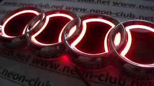 audi parts and accessories badge 5d style emblem of audi lights