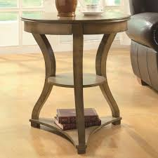 curved wood side table furniture chic idea of round wooden side table for additional