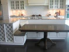 kitchen island with built in table kitchen pinteres