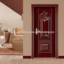 single door design china 2016 brand new wooden steel single door design j02a018 on