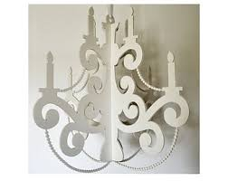 How To Make A Cardboard Chandelier Paper Chandelier Etsy