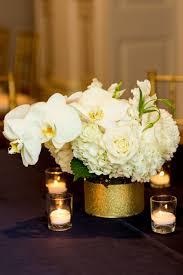 gold centerpieces wedding reception