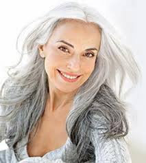 how to blend in grey hair nicole jeffrey s hair brained idea s go grey and love the way you