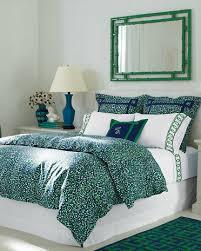 blue green duvet cover