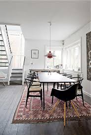 12 Seat Dining Room Table 12 Kitchens U0026 Dining Rooms Made Cozy With Kilims Design Milk
