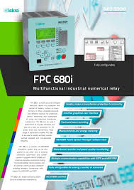 fpc680i industrial numerical relay iskra d d pdf catalogue