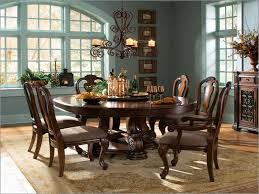 round dining table with leaf seats 8 collection in rustic round dining table for 8 round dining room
