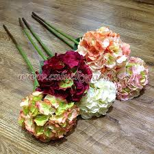 wholesale hydrangeas high quality real touch artificial hydrangeas flower wholesale