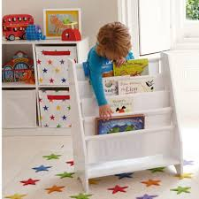 quality children u0027s sling bookcase in white book storage for