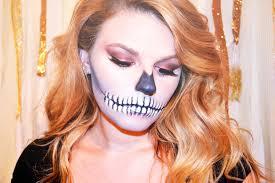 halloween makeup tutorial skeleton glam skeleton halloween makeup tutorial youtube
