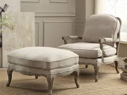 French Country Ottoman by Awakening Woman Blog White Accent Chairs Accent Chairs Under