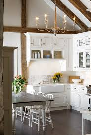 lovely kitchen white and rustic kitchen pinterest kitchen