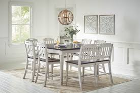 north carolina dining room furniture jofran orchard park counter height dining table with 6 chairs and