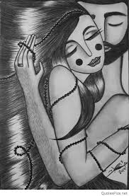 cute cartoon love couple drawings images u0026 pics
