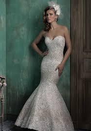 fitted wedding dresses mermaid wedding dresses