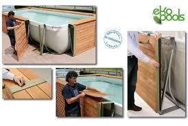 rivestimento in legno per piscine fuori terra piscine fuori terra rivestite in legno qualit罌 e convenienza