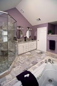 grey and purple bathroom ideas purple bathroom not feelin the wall color but i like the tile