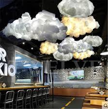 luminaires chambres moderne led coton nuage pendentif lumières luminaire de plafond