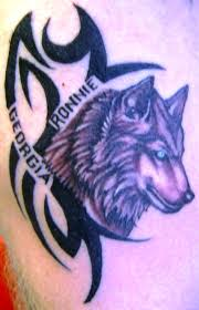 wolf tribal design and the meaning insigniatattoo com
